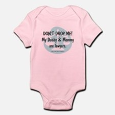 Daddy & Mommy Lawyers Onesie