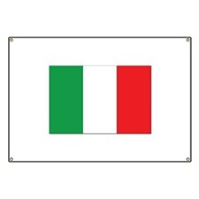 Italy Flag Banner