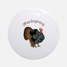 Thanksgiving Ornament (Round)