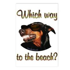 Beach Dobe Postcards (Package of 8)