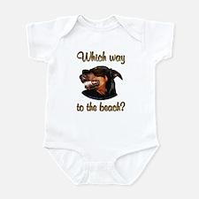 Beach Dobe Infant Bodysuit