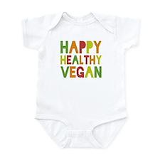 Happy Vegan Infant Bodysuit