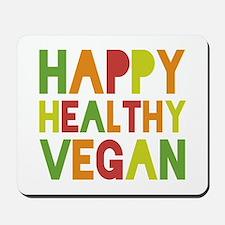 Happy Vegan Mousepad