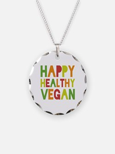 Happy Vegan Necklace