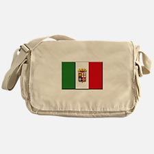 Italian Naval Ensign Flag Messenger Bag