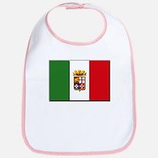 Italian Naval Ensign Flag Bib