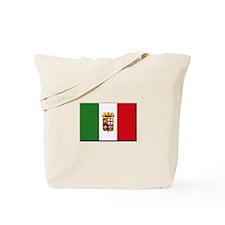 Italian Naval Ensign Flag Tote Bag