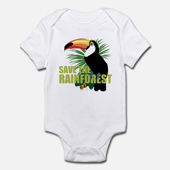 Save The Rainforest Infant Bodysuit