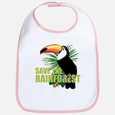 Save The Rainforest Bib