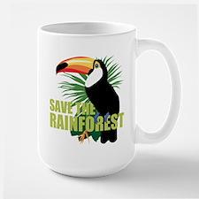 Save The Rainforest Large Mug