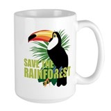 Rainforest Large Mugs (15 oz)