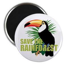 Save The Rainforest Magnet