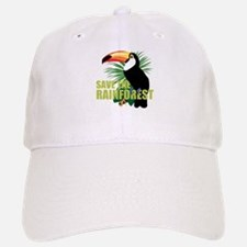Save The Rainforest Baseball Baseball Cap