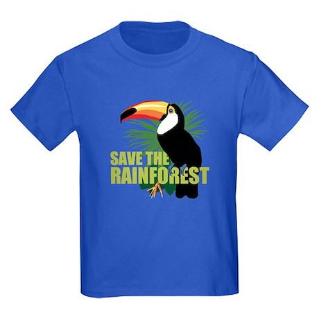 Save The Rainforest Kids Dark T-Shirt