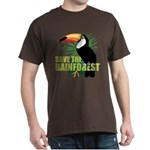 Save The Rainforest Dark T-Shirt