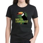 Save The Rainforest Women's Dark T-Shirt