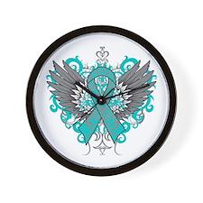 Scleroderma Wings Wall Clock