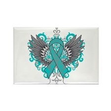 Scleroderma Wings Rectangle Magnet