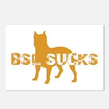 BSL SUCKS Postcards (Package of 8)