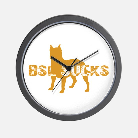BSL SUCKS Wall Clock