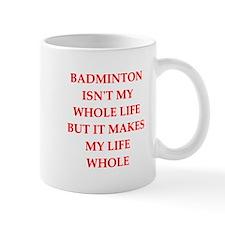 badminton Mugs