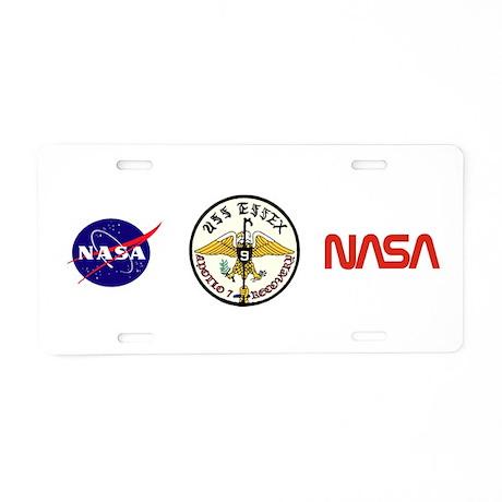 NASA Apollo 7 Aluminum License Plate by quatrosales