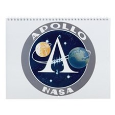 Project Apollo Program Logo Wall Calendar