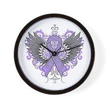Rett Syndrome Wings Wall Clock