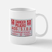 FEMA AIDS Quarantine Sign Mugs