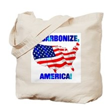 Decarbonize America Tote Bag