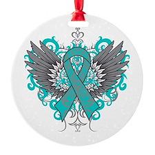 PKD Wings Ornament