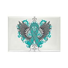 PKD Wings Rectangle Magnet