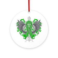 Neurofibromatosis Wings Ornament (Round)