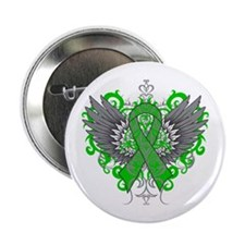 "Neurofibromatosis Wings 2.25"" Button"