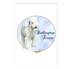 Bedlington Portrait Postcards (Package of 8)