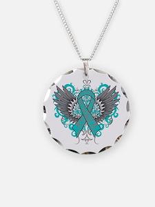 Myasthenia Gravis Wings Necklace