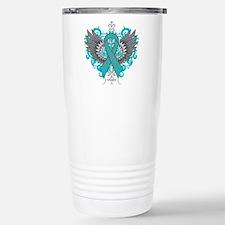 Myasthenia Gravis Wing Travel Coffee Mug