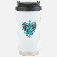 Myasthenia Gravis Wing Thermos Mug