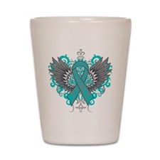 Myasthenia Gravis Wings Shot Glass