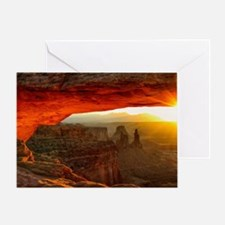 The Mesa Arch Greeting Card