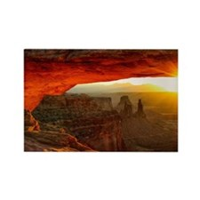 The Mesa Arch Rectangle Magnet