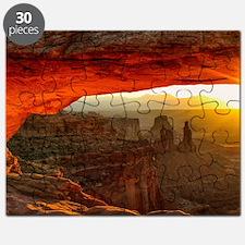 The Mesa Arch Puzzle