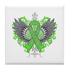 Muscular Dystrophy Wings Tile Coaster