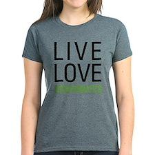 Live Love Bioinformatics Tee