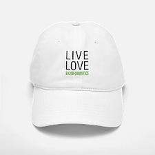 Live Love Bioinformatics Baseball Baseball Cap