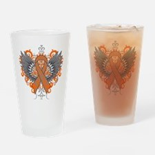 Multiple Sclerosis Wings Drinking Glass