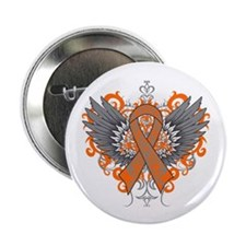 "Multiple Sclerosis Wings 2.25"" Button (10 pack)"