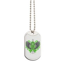 Mental Health Wings Dog Tags