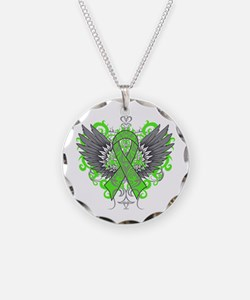 Mental Health Wings Necklace