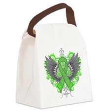 Mental Health Wings Canvas Lunch Bag